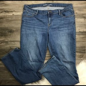 Old Navy Original Jeans Womens Mid Rise 14 Tall